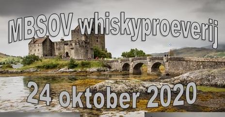 """Whisky proeverij met thema """"Rijping"""" zaterdag 24 oktober aanvang 15 uur"""